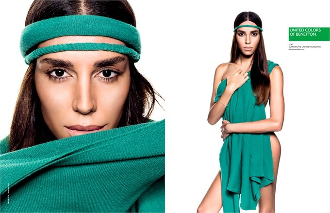 I nove testimonial per la nuova campagna United Colors of Benetton
