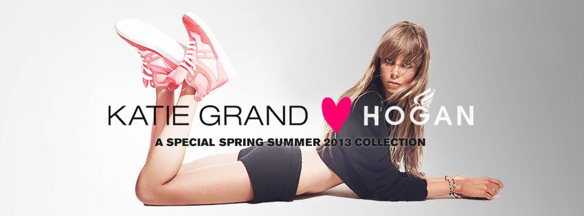 Tanti cuori per la capsule collection Hogan disegnata da Katie Grand