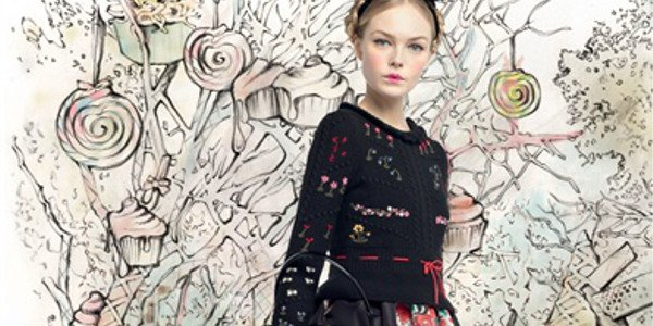 Red Valentino fa rivivere la favola di Hansel e Gretel alla New York Fashion Week 2013