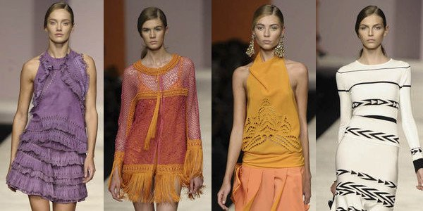 Ermanno Scervino e un look primaverile da moderne Hippies