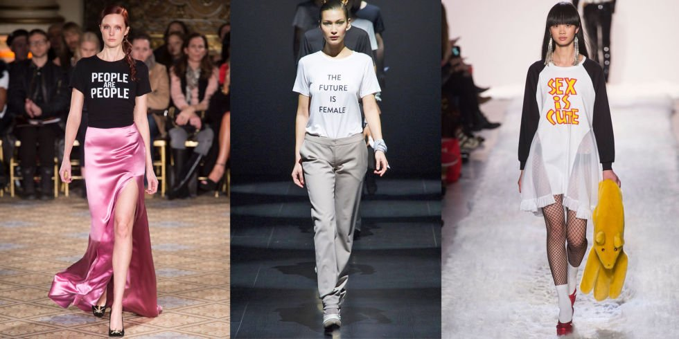 New York Fashion Week tra t-shirt parlanti e nuovi trend